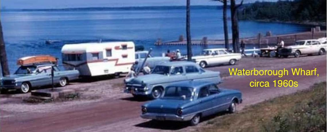 Waterborough Wharf 1960s