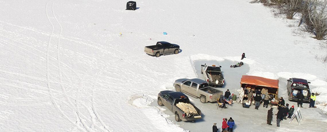 Ice Fishing Slider Image