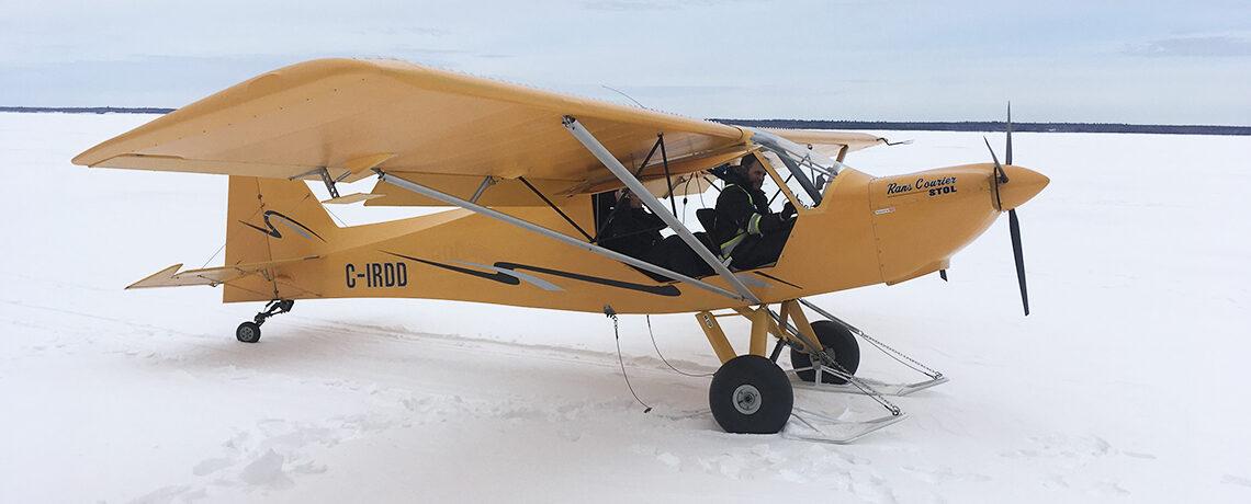 Ski Plane Slider Image